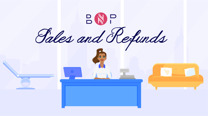Sales and refunds | BriskNPosh